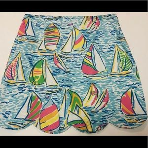 Lilly Pulitzer You Gotta Regatta Mini Skirt